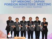 Việt Nam đề xuất nhiều sáng kiến tăng cường hợp tác Mekong-Nhật Bản