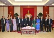 Tổng Bí thư tiếp Đoàn Ủy ban Kiểm tra Trung ương Đảng Nhân dân Campuchia