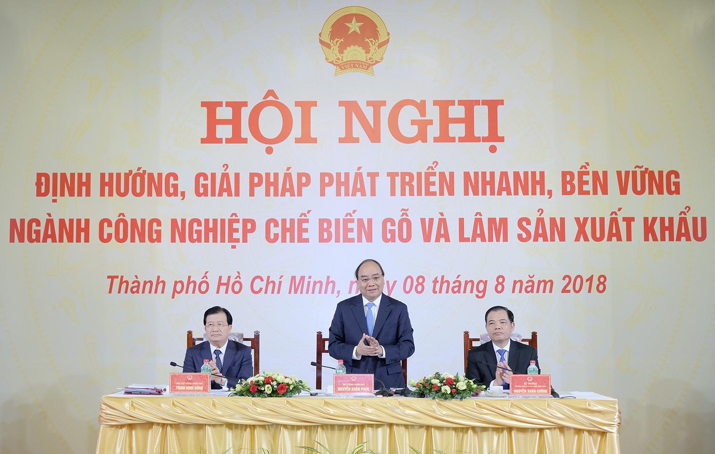 thu tuong chu tri hoi nghi tao luc day cho nganh lam nghiep