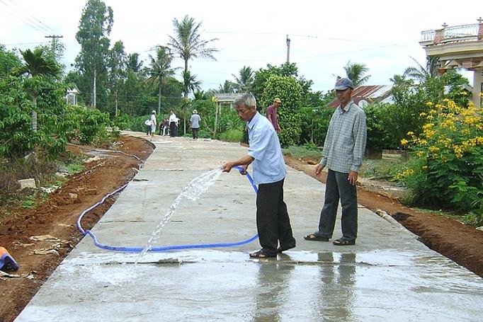 Xây dựng nông thôn mới nâng cao điều kiện sống của người dân khu vực khó khăn