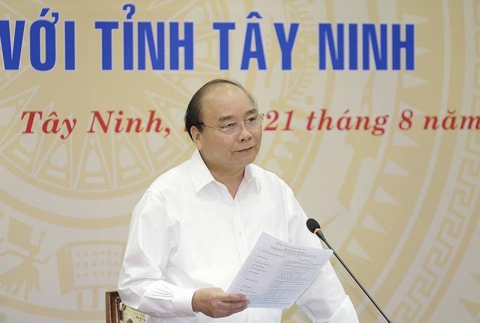 thu tuong mong muon tay ninh la hinh mau lam giau bang nong nghiep
