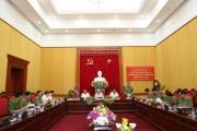 Tổng Bí thư, Chủ tịch nước, Thủ tướng tham gia Đảng ủy Công an Trung ương