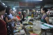 Thái Nguyên: Chặn thực phẩm bẩn