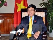 Phó Thủ tướng Phạm Bình Minh tiếp xúc bên lề Đại hội đồng LHQ
