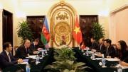 Việt Nam, Azerbaijan ưu tiên thúc đẩy hợp tác dầu khí