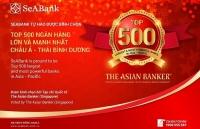 seabank lot top 500 ngan hang lon va manh nhat chau a thai binh duong