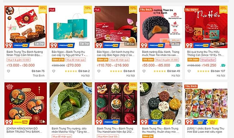 Tết Trung Thu mùa COVID-19: Mua sắm, học làm bánh trên sàn online    Thị trường   Vietnam+ (VietnamPlus)