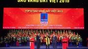 PV GAS: TOP 10 Giải thưởng Sao Vàng đất Việt 2015
