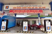 Quảng Ninh dán tem các phương tiện đo xăng dầu