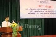Thừa Thiên Huế: Phổ biến Thông tư số 08 tới các đại lý và nhà phân phối sữa