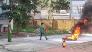 Than Quang Hanh coi trọng công tác phòng cháy chữa cháy