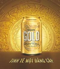 saigon gold khang dinh vi the cua bia sai gon