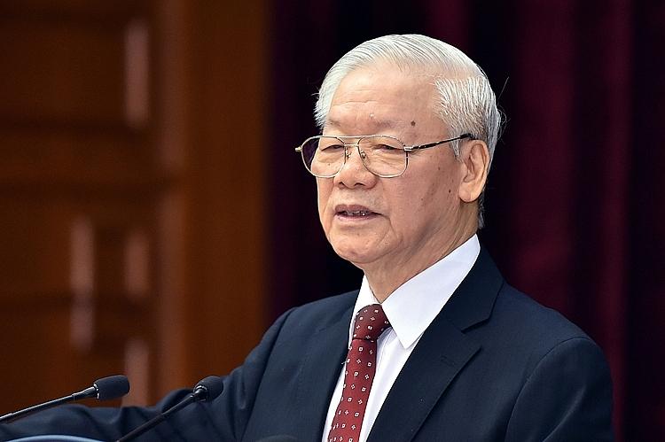Tổng Bí thư Nguyễn Phú Trọng: Chúng ta đã bình tĩnh, tỉnh táo xử lý kịp thời, đúng đắn những vấn đề khó, chưa có tiền lệ, mới phát sinh