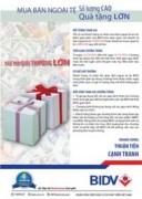 BIDV khuyến mại lớn khi mua bán ngoại tệ