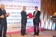 Quảng Ninh trao giấy chứng nhận đầu tư dự án 7000 tỷ
