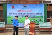 Vinamilk hỗ trợ 3 tỷ đồng cho người dân vùng lũ 3 tỉnh Yên Bái, Hoà Bình và Thanh Hoá