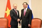 Tuyên bố chung của Chủ tịch nước Trần Đại Quang và Tổng thống Nga Putin