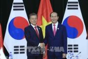 Chủ tịch nước Trần Đại Quang gặp Tổng Bí thư, Chủ tịch nước Lào và Thủ tướng Vương quốc Campuchia; hội kiến với Tổng thống Hàn Quốc