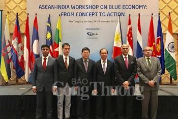 Hội thảo Asean - Ấn Độ: 'Kinh tế biển xanh: Từ khái niệm đến hành động'