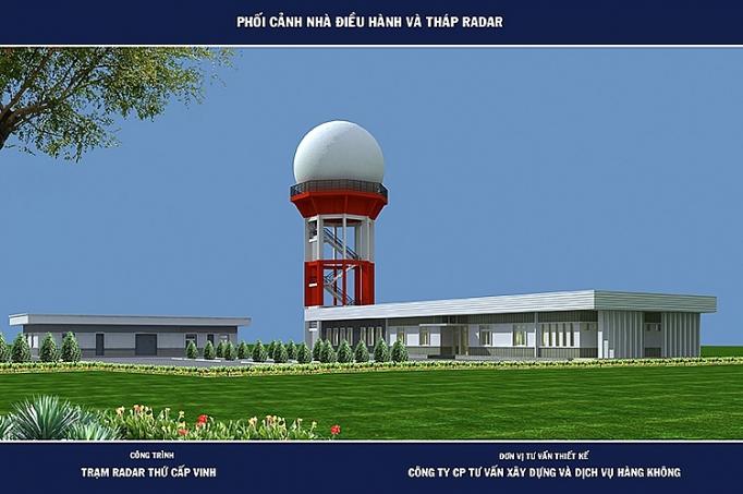 khoi cong xay dung tram radar vinh
