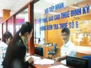 Ngân hàng dừng nhận thuế doanh nghiệp bằng tiền mặt