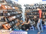Da giày hưởng lợi lớn