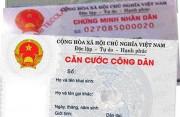 Chính thức thu lệ phí cấp mới Căn cước công dân