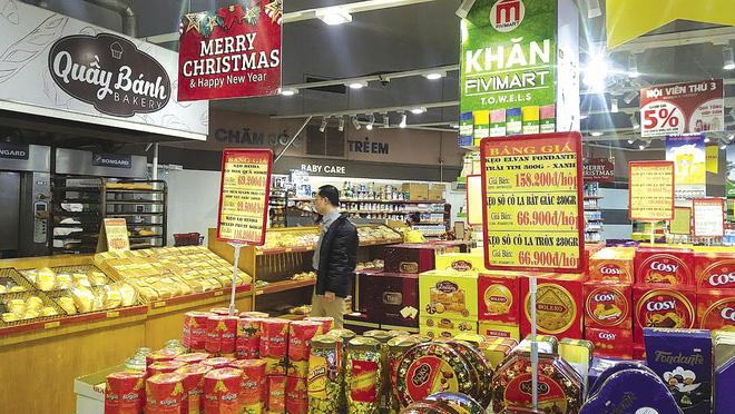 """Thị trường bánh kẹo: Hàng ngoại """"át vía"""" hàng nội"""