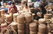 Xuất khẩu mây tre đan: Chật vật nguồn nguyên liệu