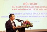 Tìm cách thức và cơ chế tiền lương cho Việt Nam