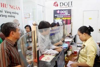 vang sjc tang 10000 dong moi luong trong phien mo cua dau tuan
