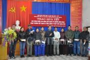 Công đoàn Công Thương Việt Nam hỗ trợ nhà, trao quà Tết cho gia đình khó khăn