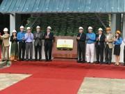Gắn biển công trình chào mừng Đại hội III Công đoàn Công Thương Việt Nam