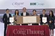 Regent và BIM Group ký hợp đồng quản lý Dự án Regent Phú Quốc