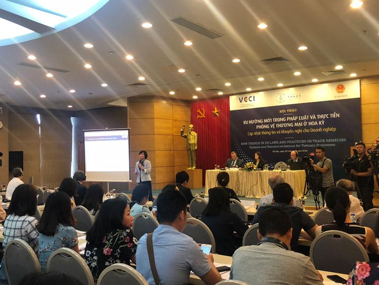 Phiên họp lần thứ 9 của Nhóm công tác Việt Nam – Hoa Kỳ về vấn đề Kinh tế thị trường năm 2018