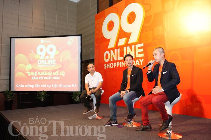 Shopee khởi động chương trình '9.9 online shopping day'