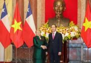 Quan hệ Đối tác toàn diện Việt Nam - Chile ngày càng bền vững