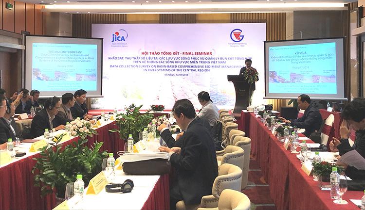 JICA chia sẻ kết quả khảo sát về quản lý bùn đất tổng hợp