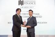 Mobile App của Home Credit thắng giải Ứng dụng tài chính tiêu dùng tốt nhất 2017