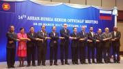 Quan chức cao cấp ASEAN - Nga nhóm họp lần thứ 14