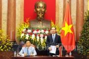 Chủ tịch nước đánh giá cao đóng góp của cơ quan thương vụ vào phát triển kinh tế