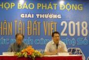 """""""Nhân tài Đất Việt 2018"""" tăng gấp đôi giá trị giải thưởng"""