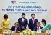 FPT và Vietnam Airlines ký thỏa thuận hợp tác chiến lược