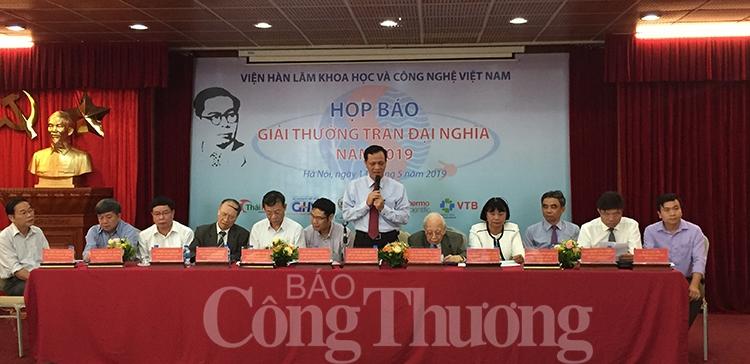 giai thuong tran dai nghia nam 2019 se trao cho bon cong trinh xuat sac