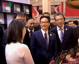 Phó Thủ tướng Vũ Đức Đam dự Khai mạc hai hội chợ lớn tại Trung Quốc