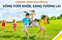sun life tung chuong trinh khuyen mai song tuoi khoe sang tuong lai tri an khach hang