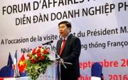 """Doanh nghiệp Việt - Pháp """"Cùng hướng tới sự phát triển bền vững"""""""