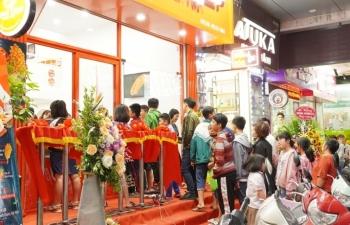khai truong cua hang duc viet food shop dau tien trong chuoi 100 cua hang
