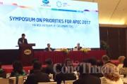 Sự kiện đầu tiên, khởi động các hoạt động Năm APEC 2017