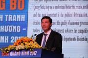 Quảng Ninh công bố chỉ số cạnh tranh cấp sở, ngành, địa phương năm 2017